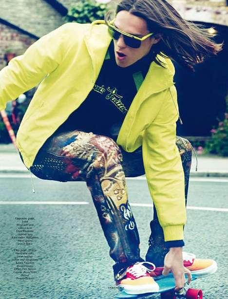 Refined Skater Pictorials