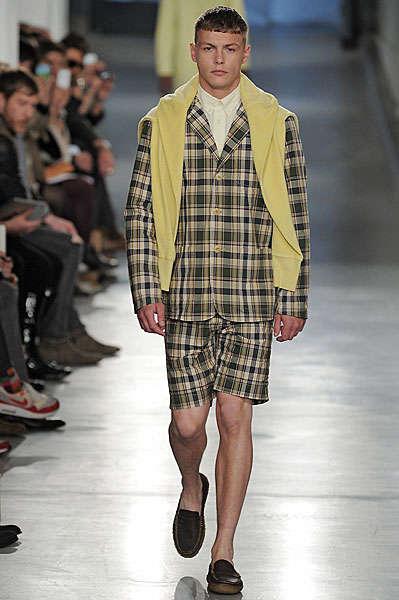 Multi-Patterned Male Fashion