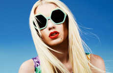Boldly Vibrant Sunglasses - The House of Holland 2012 Eyewear Campaign Stars Rapper Iggy Azalea