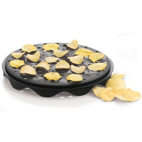 Homemade Microwaved Chips