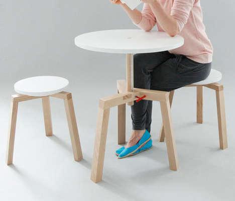 Adjustable Multifunctional Furniture