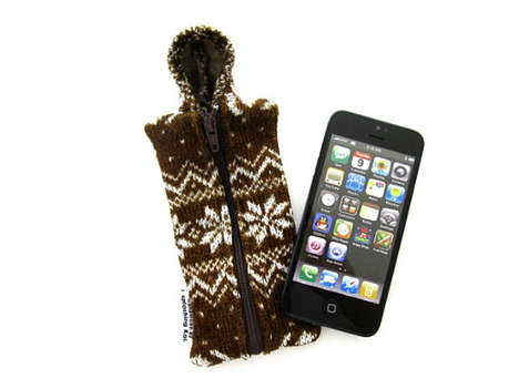 Sweater-Inspired Phone Covers