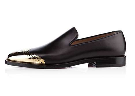 Gilded Golden-Toed Loafers
