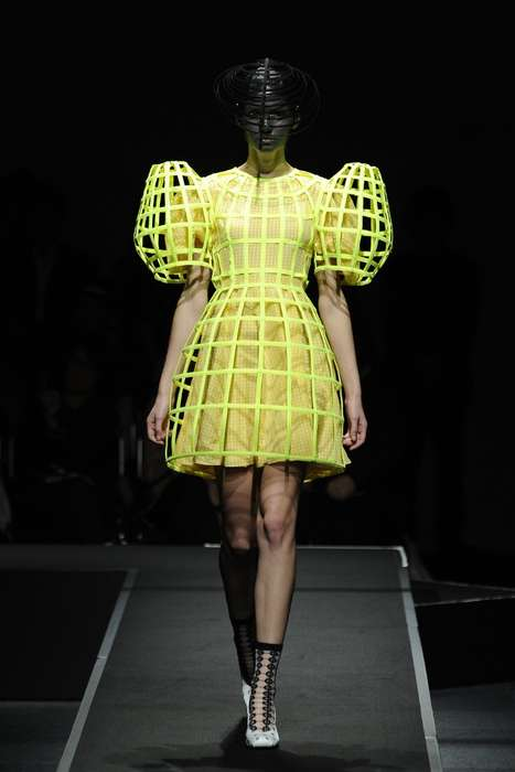 Glowing Caged Garments