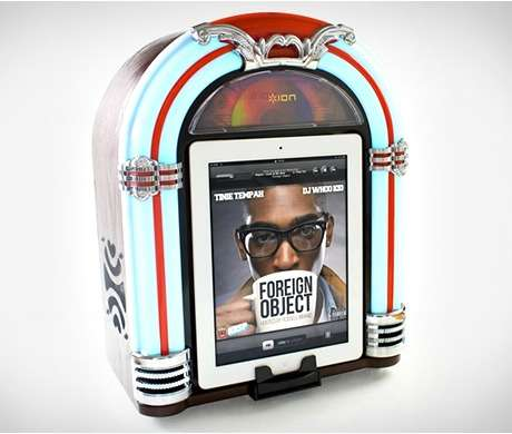 Rockabilly Music Box Speakers