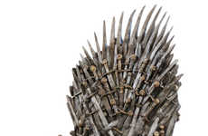 Sword-Seating Replicas - Rule the Seven Kingdoms with the Game of Thrones Lifesized Throne