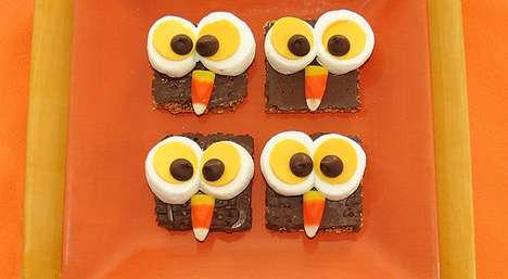 Hoot-fully Sweet Campfire Crackers