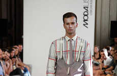 Modernized Workwear Collections - The Ricardo Andrez Spring/Summer Runways Show is Inventive