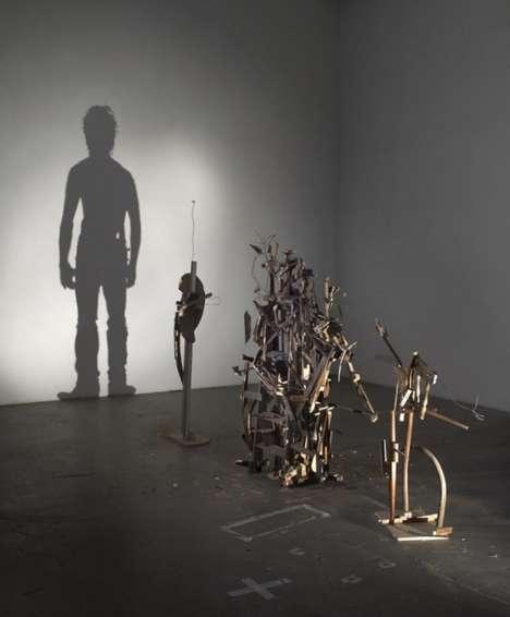 Human Shadow Sculptures (UPDATE)