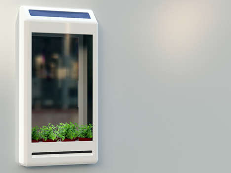 Window-Attached Air Purifiers