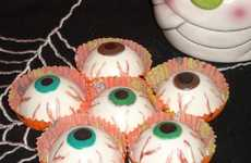 Gruesome Edible Eyeballs - The Bloodshot Chocolate Eyeballs are the Perfect Sweets for Any Party