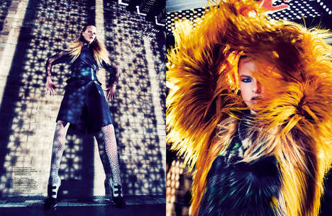 Dangerously Glam Editorials