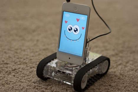 Expressive Phone App Robots
