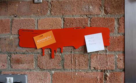 Brush Stroke Note Organizers