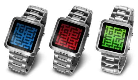 Puzzling Labyrinth Timepieces