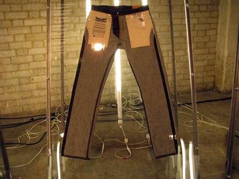 Imaginative Denim Installations