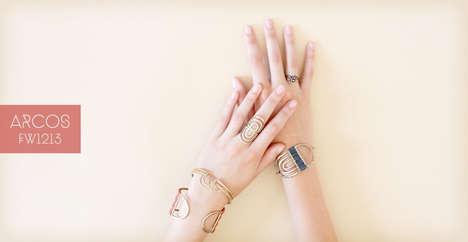 Feminine Nature-Inspired Jewelry