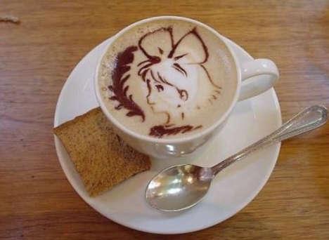 Caffeinated Anime Artistry