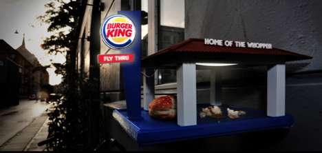 Fast Food Avian Feeders