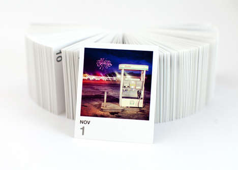 The Printstagram Tear-Off Calendar Turns Photos into Chronicled Art