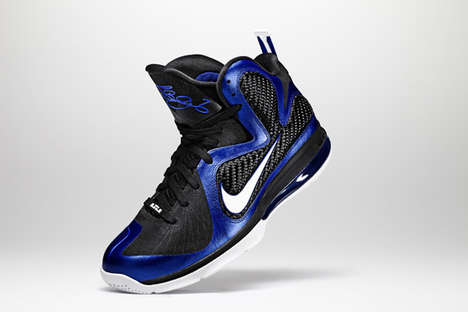 These LeBron James Nike Sneakers are Hot Balling Streetwear Kicks
