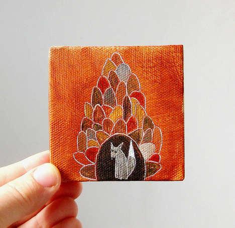 Miniscule Acrylic Artworks