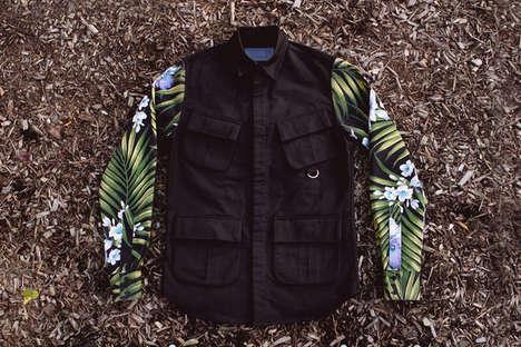 Tropic Floral Print Garments