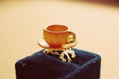 Princess-Inspired Carriage Rings