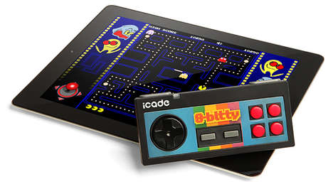 Retro Gaming Smartphone Add-Ons - The iCade 8-Bitty Game Controller Takes You Back to 1985