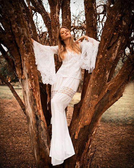 Boho Tree-Hugger Fashion Ads