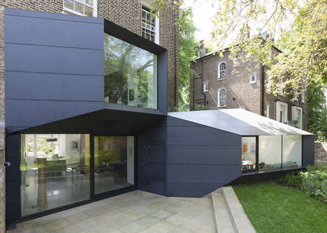 Contrasting Origami Extensions