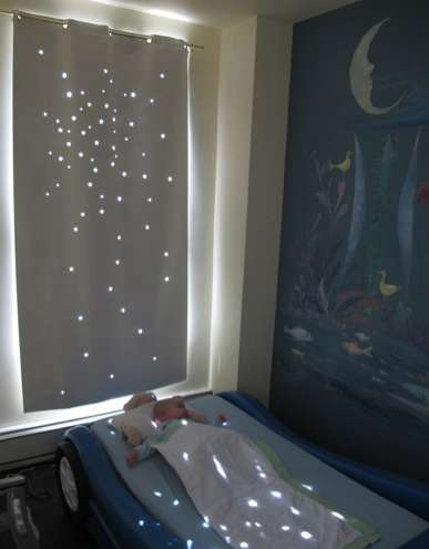 Starry Sleep-Enhancing Blinds