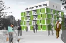 Algae-Powered Building