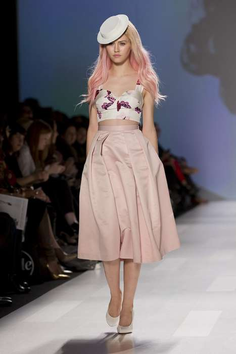 60s-Inspired Pastel Couture