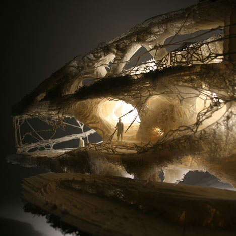 3D-Printed Cave Constructions