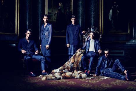 Opulent Menswear Couture