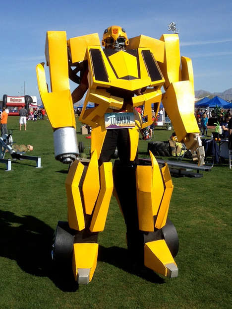 Life-Size Comic Book Costumes