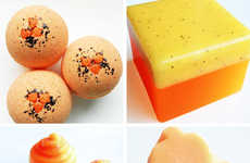 Squash-Inspired Bath Products - This Halloween Hostess Gift is a Packed Pumpkin Bath Set