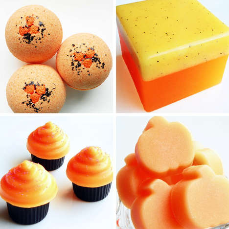 Squash-Inspired Bath Products