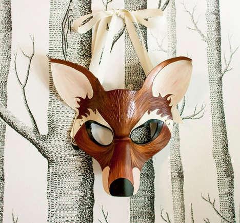 Leathered Animal Masks (UPDATE)