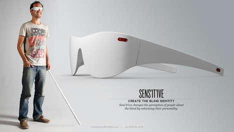 Obstacle-Detecting Eyewear