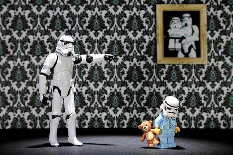 Parental Sci-Fi Soldier Portraits