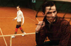 Dynamically Sporty Fashionistos - The Hunter Magazine Team Kenzo Editorial Shows Printed Menswear