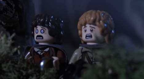 LEGO Hobbit Stories - LEGO: A Hobbit Halloween Shows How Spooky Pranks Can Go Awry