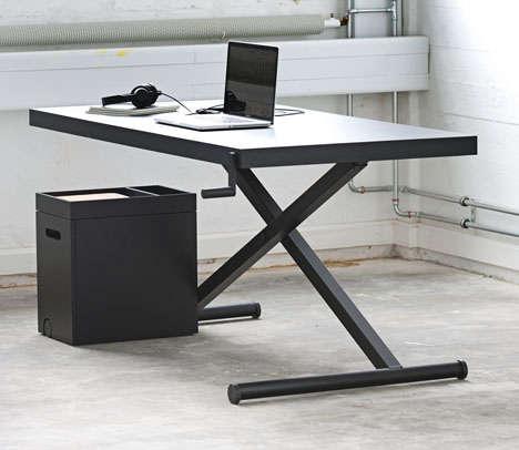 Ironing Board-Like Desks