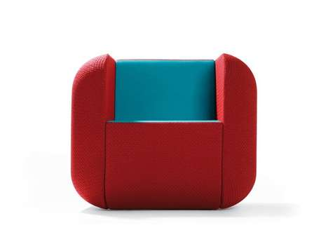 Icon-Inspired Seating - The Apps Furniture Line Takes its Concept From Smartphone Screens