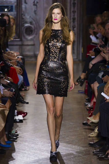 Perforated Leather Frocks
