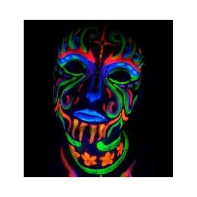 Light Reactive Face Paints