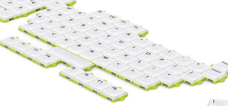Shiftable Concept Keypads