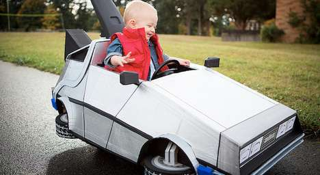 Time Traveling Infant Ensembles - This Back to the Future Baby Costume is 1.21 Gigawatts of Awesome